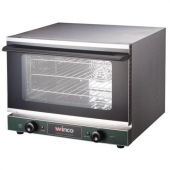 Winco - Convection Oven, 1/2 Size Countertop, 1.5 cu. ft. Stainless Steel