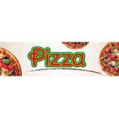 Winco - Electric Heated Merchandiser Pizza Sign, 5.75x16.125