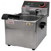 Winco - Deep Fryer, Electric Single Well, 16 Lb Oil Capacity, 11.75x16x13.625