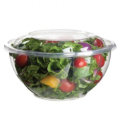 Eco-Products - Bowl with Lid, 18 oz Clear PLA Plastic
