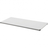 Cambro - Camshelving Elements Series Stationary Solid Shelf Kit, 18Dx36L Brushed Graphite