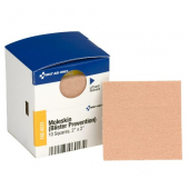 Moleskin Blister Cushion and Prevention Bandage, 2x2