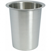 "Winco - Flatware Cylinder, Solid Stainless Steel, Fits 4"" Diameter Hole"