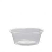 Karat - Portion Cup, 1.5 oz Clear PP Plastic