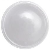 Karat - Deli Container Flat Lid, Clear PP Plastic, Fits 8-32 oz Containers