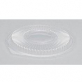 Genpak - Lid, Clear Plastic, Round, Fits 24 and 32 oz container