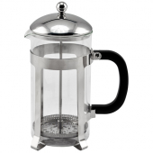 Winco - French Press Coffee Maker, 33 oz Stainless Steel with PP Plastic Handle, Holds approx 4 Cups