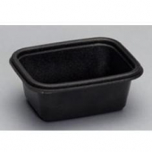 Genpak - Lid, Clear Plastic, Rectangle, Fits 12 and 16 oz container