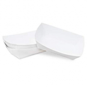 Food Tray, White #25, 4.25x3.25x1.25