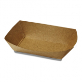 Food Tray, Kraft #40, 5x3.625x1.125