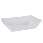Food Tray, White #200, 6x4x1.5