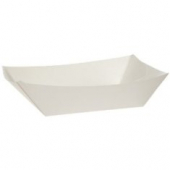 Food Tray, White #300, 8.125x5.875x2.125