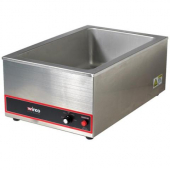 Winco - Food Cooker/Warmer, Fits Most Full Size Pans, 1200W Electric