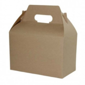 Gable Box, 8x4.875x5.25 Kraft