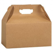 Gable Box, 8x5x5.25 Kraft