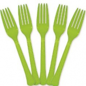 Fork, Heavy Weight, Kiwi (Green)