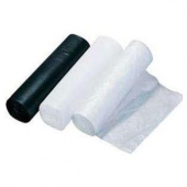 Trash (Garbage) Can Liner, High Density Clear, 40x48, 14 mic Roll