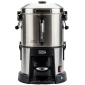 Hamilton Beach - BrewStation Coffee Urn, 1.75 Gallon (45 Cup) Stainless Steel