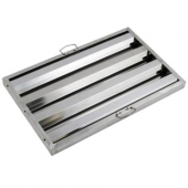 Winco - Hood Filter, 16x20 Stainless Steel