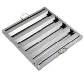 Winco - Hood Filter, 20x20 Stainless Steel