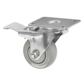 Winco - Ingredient Bin Casters with Brakes, Fits 21 or 27 Gallon Bins