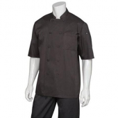 Chef Works - Montreal Cool Vent Chef Coat, Large Black