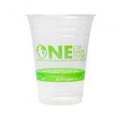 Karat Earth - PLA Cold Cup, 16 oz One Earth Print