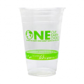 Karat Earth - PLA Cold Cup, 20 oz One Earth Print