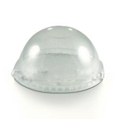 Karat - Dome Lid, Fits 16 oz Container, Clear PET Plastic