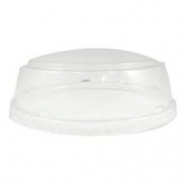 Karat - Plastic Dome Lid, Fits 24-32 oz Container, Clear PP