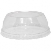 Karat - Dome Lid with Wide Opening, Fits 12-24 oz Cups, PET Plastic