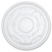 Karat - Flat Lid, Fits 4 oz Food Container, PP Plastic