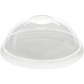 Karat - Dome Lid, PET Plastic, Fits 8 oz Paper Food Container