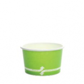 Karat - Hot/Cold Paper Food Container, 4 oz Green