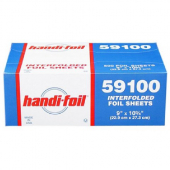 HFA - Interfolded Foil Sheets, 9x10.75, 6/500 count