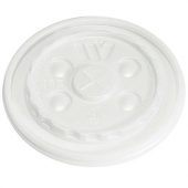 Wincup - Foam Cup Lid, Straw Slotted, Fits 12-24 oz Cups