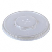 Dart - Lid, Straw Slot, Clear PET Plastic, Fits 32 oz Cups