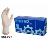 Latex Gloves, Lightly Powdered, Large