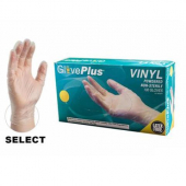Restaurants Pride - Vinyl Gloves, Powdered, Large