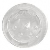 Solo - Lid, Clear Poly Cold Drink Lid with Straw Slot, Fits 44 oz