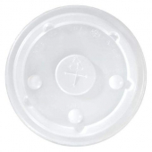International Paper - Cold Cup Lid, 16-24 oz Translucent PS Plastic