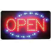 "Winco - LED ""Open"" Sign, 22x1.5x13"
