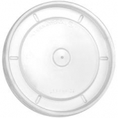 International Paper - Hot Container Lid, Flat Clear, Fits 16/32 oz