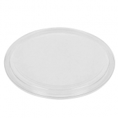Fabri-Kal - Deli Container Lid, Fits 8-16 oz Containers, Clear PET Plastic