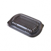 Anchor - MicroRaves Half Slab Rib Combo Pack (Black Plastic Base with Clear Vented Lid)