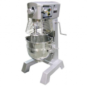 Omcan - Baking Mixer, 30 Quart with Guard and Timer, 29x26x50