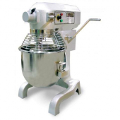 Omcan - Baking Mixer, 20 Quart with Guard and Timer, 25x22x38