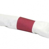 Evergreen - Napkin Band, 4.25x1.5 Burgundy Paper, 8/2500 count