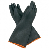 Winco - Gloves, Heavy-Duty Natural Latex, 10.5x18.5