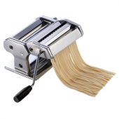 "Winco - Pasta Maker with Detachable Cutter and 7"" Roller Length"
